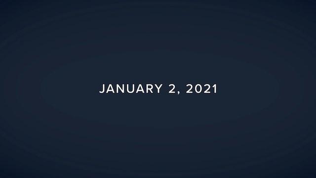 Daily Reflections – January 2, 2021