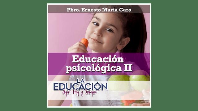 La educación psicológica II