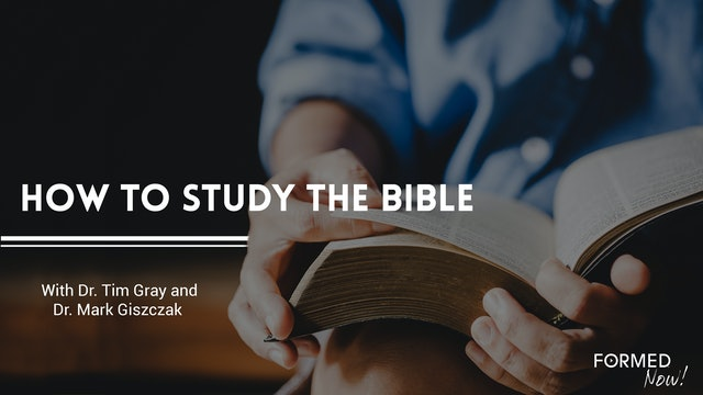 FORMED Now! How to Study the Bible