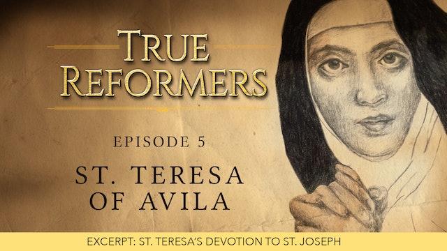 St. Teresa and St. Joseph