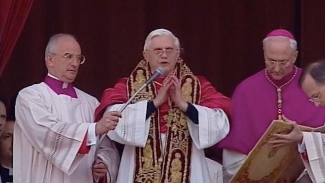 El mundo entre dos Papas: La elección de Benedicto XVI
