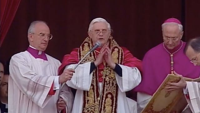 El mundo entre dos Papas: La elección...