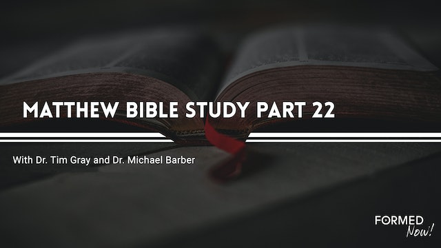 Bible Study: The Gospel of Matthew (Part 22) 16:1-20