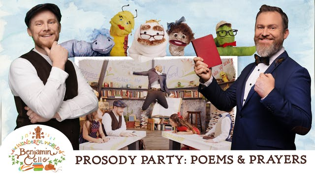 Episode 3 - The Prosody Party: Poems ...