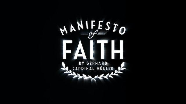 MANIFESTO OF FAITH - Introduction