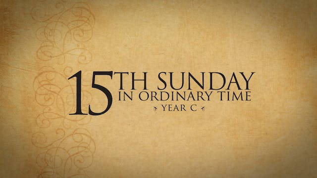 15th Sunday in Ordinary Time (Year C)