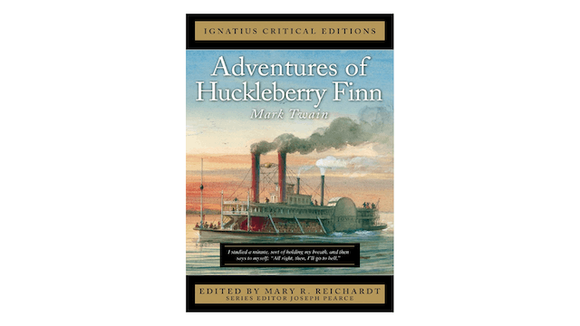 Adventures of Huckleberry Finn by Mark Twain, ed. by Mary R. Reichardt