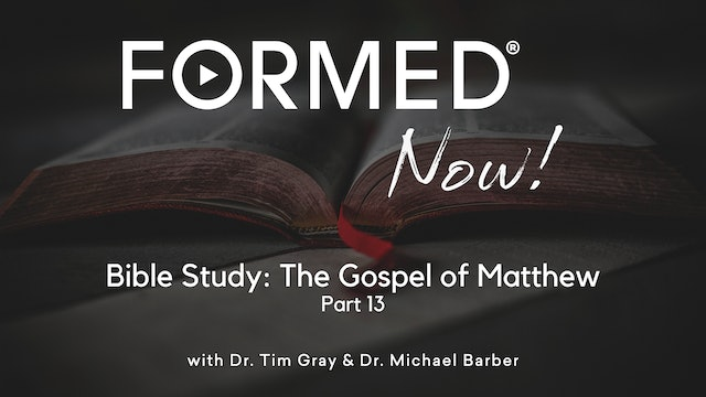 Bible Study: The Gospel of Matthew (Part 13) 11:7-30