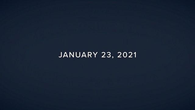 Daily Reflections – January 23, 2021