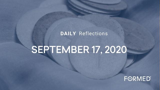 Daily Reflections – Feast of Saint Robert Bellarmine – September 17, 2020