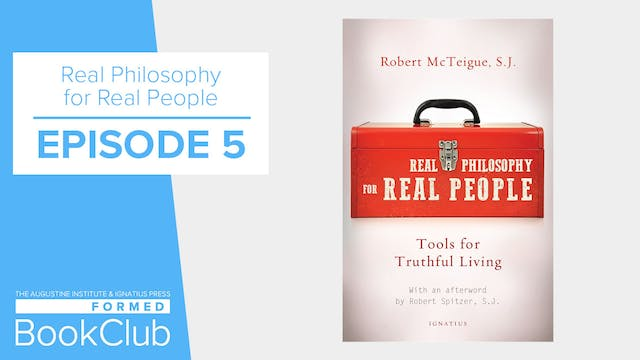 """FORMED Book Club - """"Real Philosophy F..."""