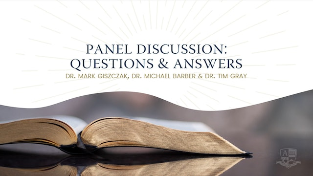 2020 Anchored Bible Conference: Questions & Answers