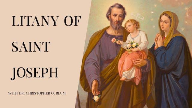 Litany of Saint Joseph