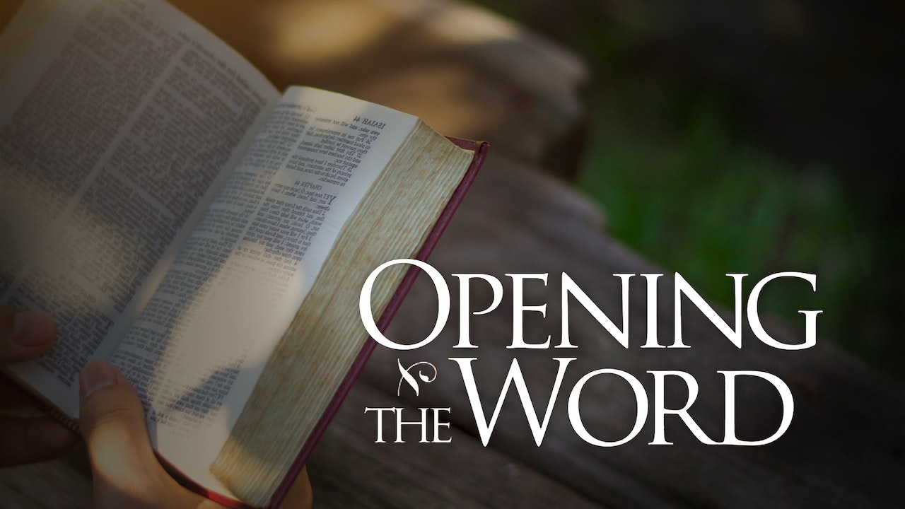 Opening the Word Weekly Reflection