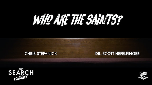 Who are the Saints?