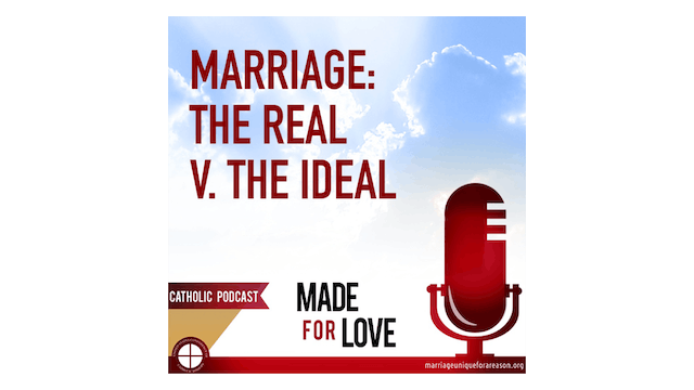 Real Marriage v. the Ideal