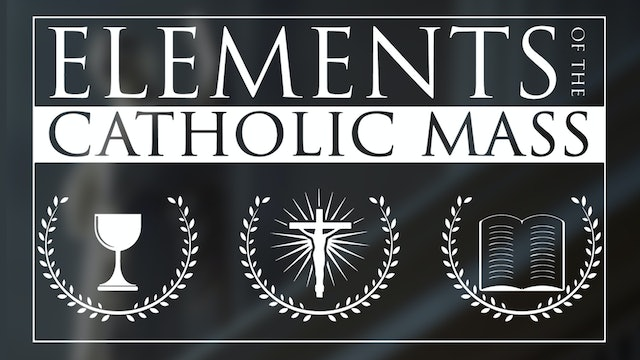 The Elements of the Catholic Mass