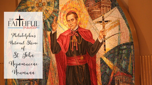 East Coast Shrines:  National Shrine of St John Nepomucene Neumann