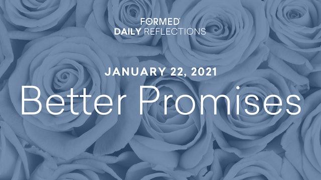 Daily Reflections – January 22, 2021