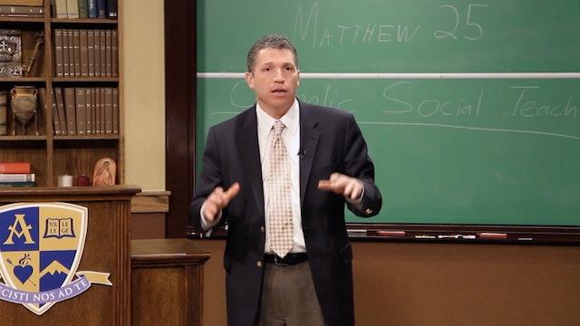 FORMED Daily: Catholic Social Teaching