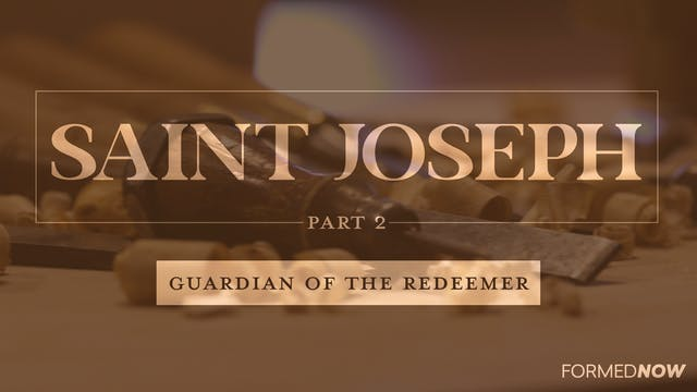 St Joseph: Guardian of the Redeemer (...