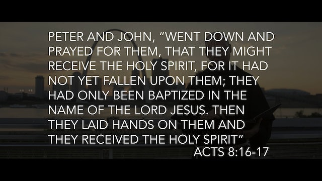 The Spirit and the Sacraments