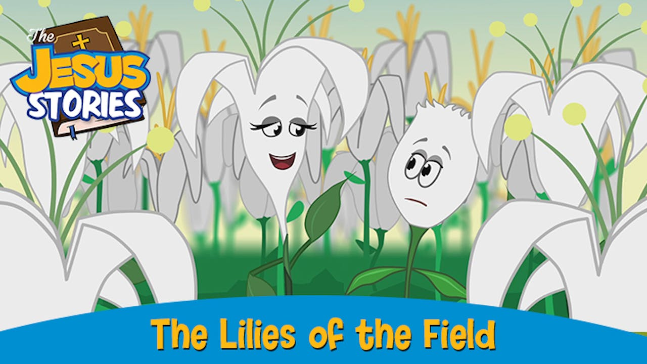 The Jesus Stories 7:  The Lilies of the Field