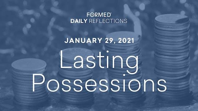 Daily Reflections – January 29, 2021