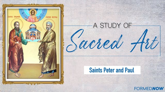 Sacred Art: Sts. Peter and Paul