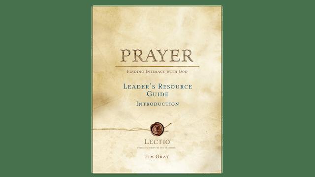 Lectio: Prayer Leader Guide PDF