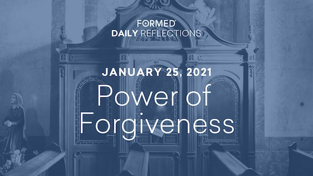 Daily Reflections – Feast of the Conv...