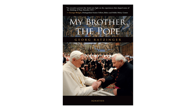 KINDLE: My Brother, the Pope
