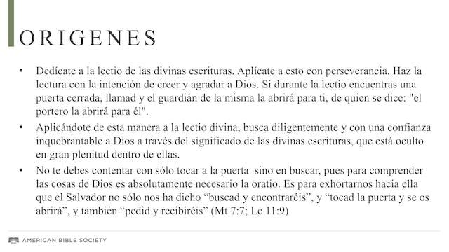 Lectio Divina: principios