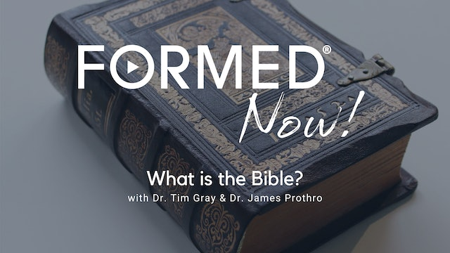 FORMED Now! What is the Bible?