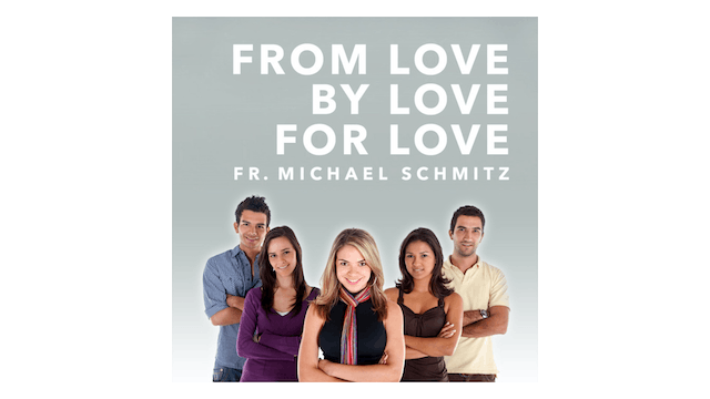 From Love, By Love, For Love: A Deeper Understanding of Sex, Same-Sex Attraction, & Authentic Love by Fr. Mike Schmitz