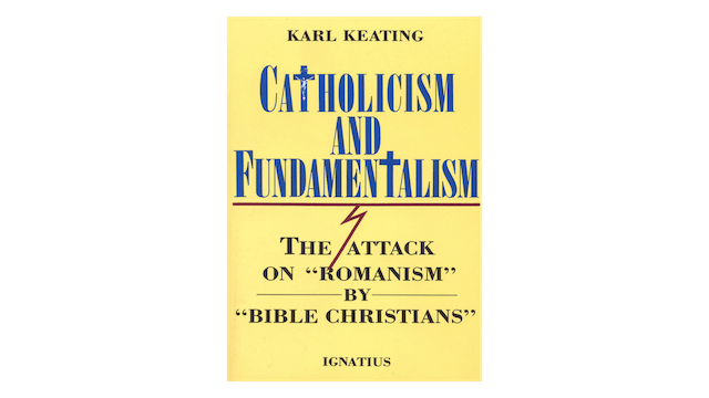 KINDLE: Catholicism and Fundamentalism