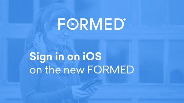 Sign in on iOS on the New FORMED