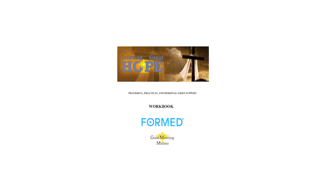 Grieving with Great Hope Workbook