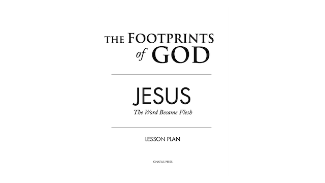 Footprints of God Lesson Plans