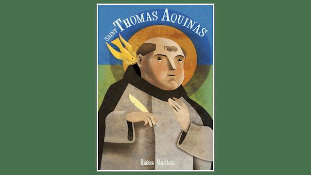 Saint Thomas Aquinas by Raïssa Maritain