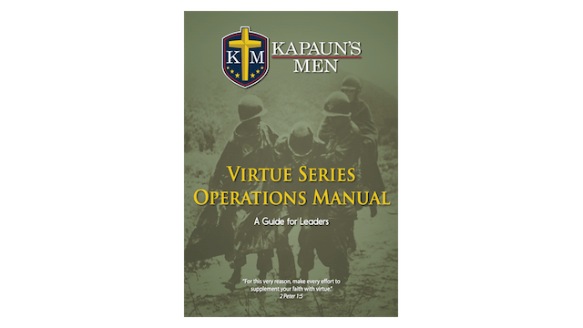 Kapauns Men Virtue Series Operations Manual
