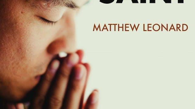 Pray like a Saint by Matthew Leonard