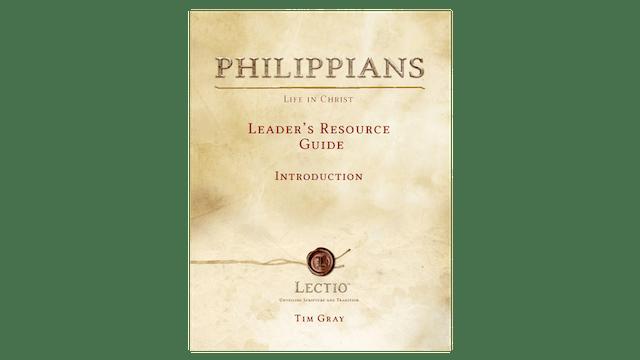 Lectio: Philippians Leader Guide PDF