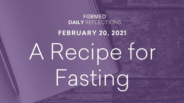 Lenten Daily Reflections – February 2...