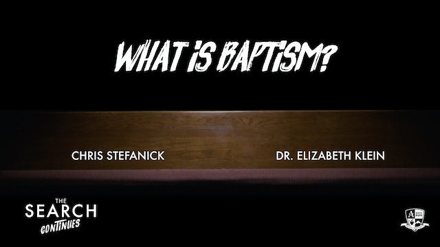 What is Baptism?