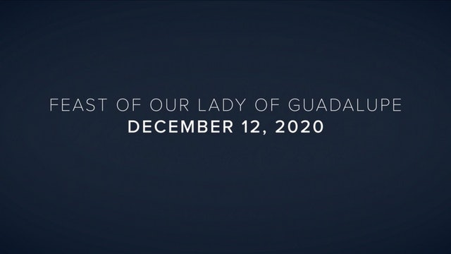 Daily Reflections – Feast of Our Lady of Guadalupe – December 12, 2020