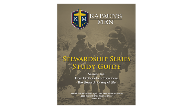 Kapauns Men Stewardship Series Study Guide
