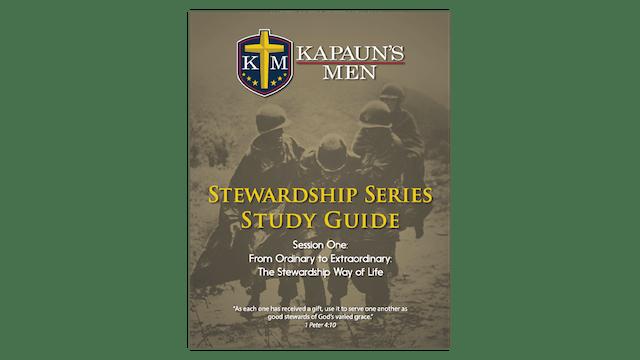 Kapaun's Men Stewardship Series Study Guide