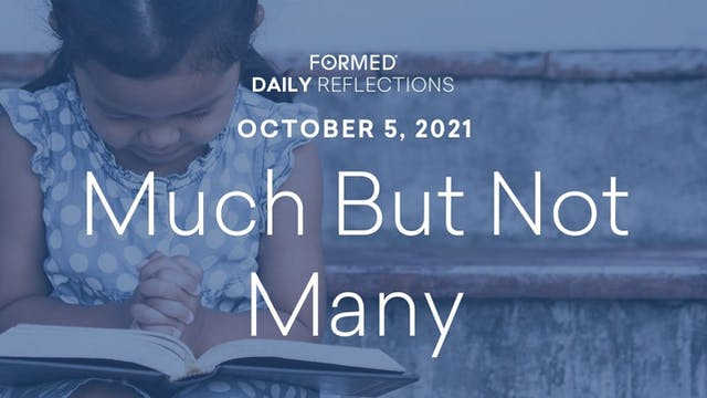 Daily Reflections – October 5, 2021