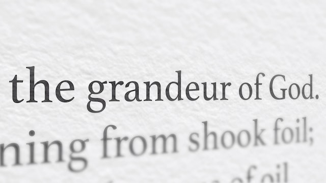 FORMED Daily: The Grandeur of God
